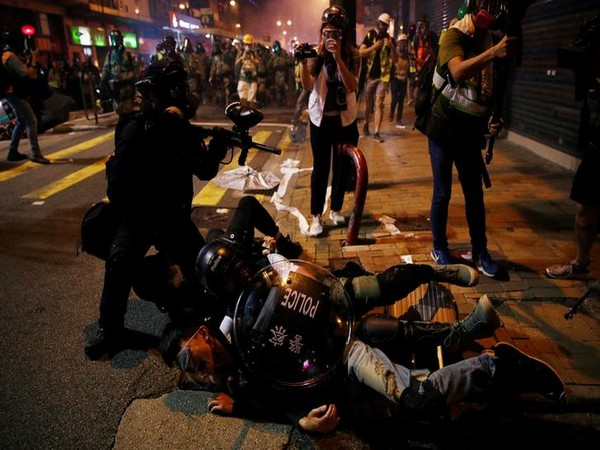 Visuals from last week's protests in Hong Kong (Photo/Reuters)
