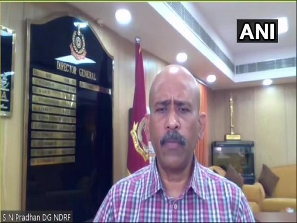 National Disaster Response Force (NDRF) Director General SN Pradhan