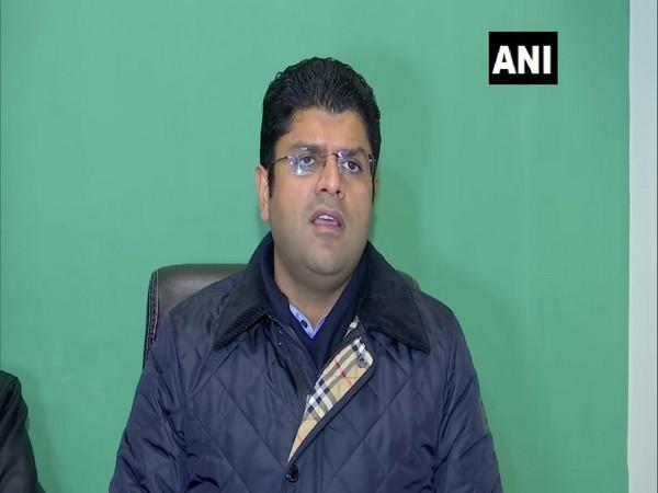 Haryana Deputy Chief Minister Dushyant Chautala (file pic/ANI).