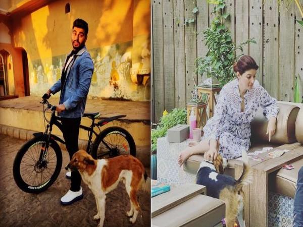 Arjun Kapoor and Twinkle Khanna (Image courtesy: Instagram)