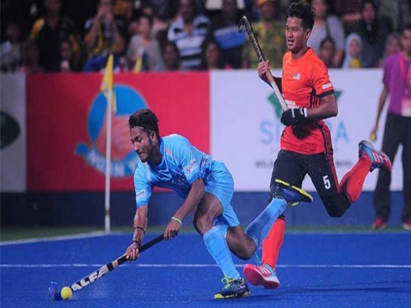 India and Malaysia in action (Photo/ Hockey India)