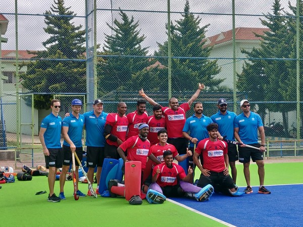 Indian players after the conclusion of camp (Photo/Hockey India Twitter)