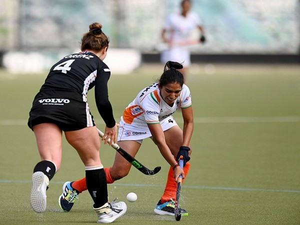 India women's hockey team midfielder Monika (Image: Hockey India)