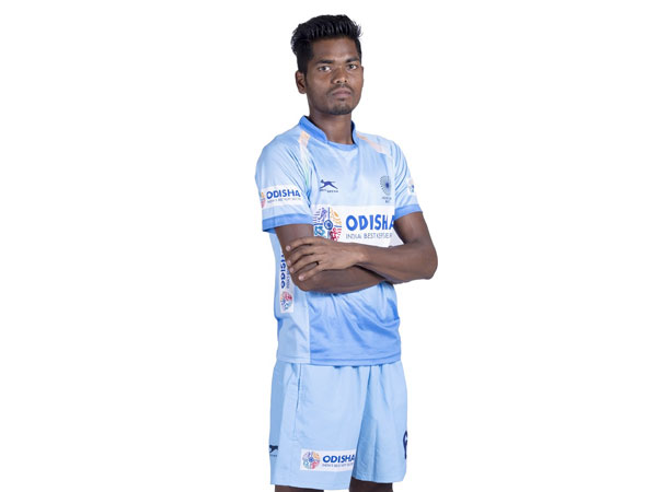 India defender Nilam Sanjeep Xess (Image: Hockey India)