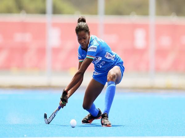 Young forward Salima Tete (Image: Hockey India)