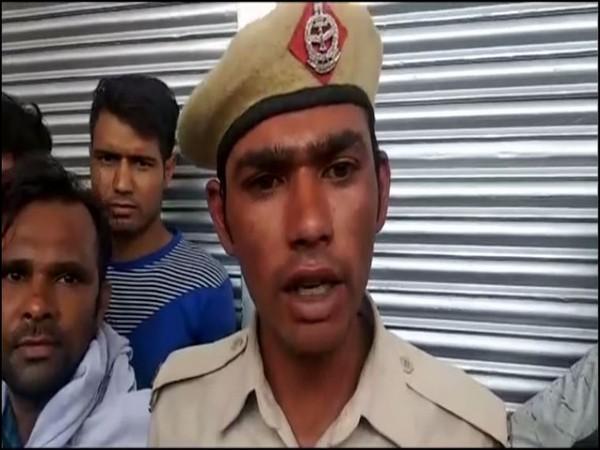 Homeguard officer Monu Yadav (Photo/ANI)