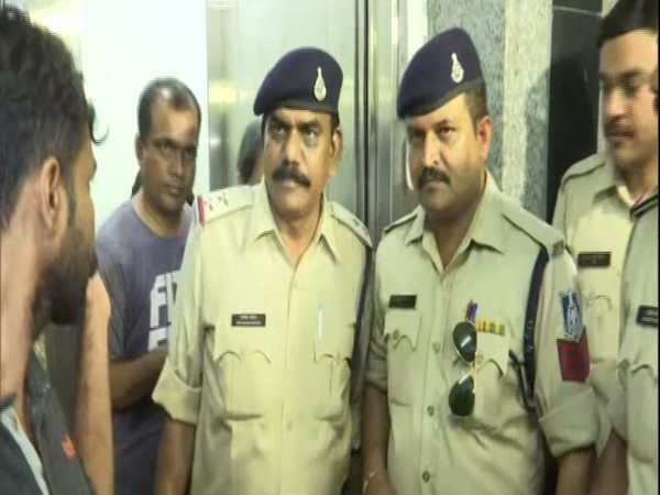 Madhya Pradesh Police personnel at a police station in Bhopal on Monday after one of the honey trapping accused was brought there for investigation. (File Image)