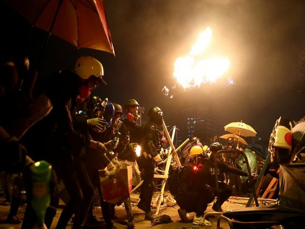Hong Kong Protests: Police storm University Campus, retreat in face of growing fire