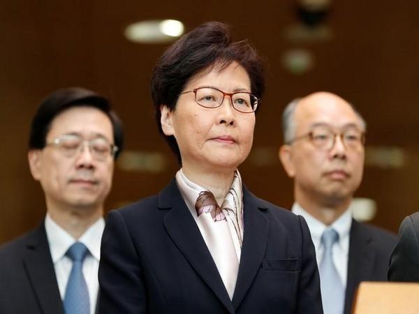 Hong Kong Chief Executive Carrie Lam (File photo)