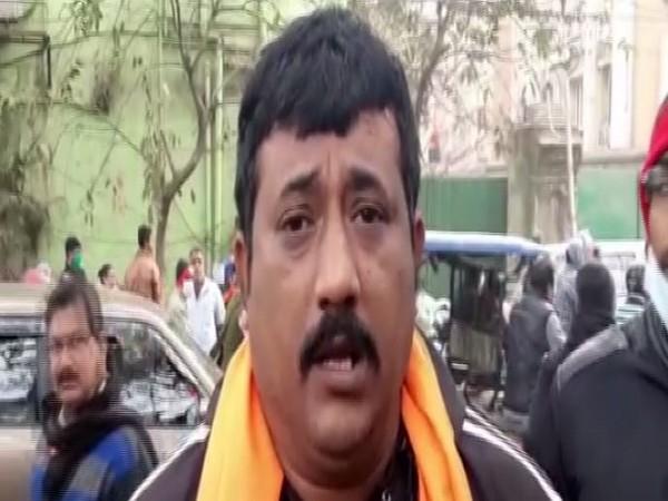 Surajit Saha, BJP's district president in Howrah