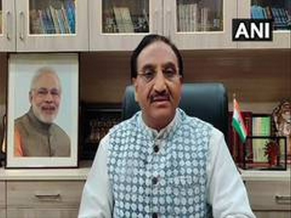 Union Cabinet Minister for Human Resource Development (HRD) Dr Ramesh Pokhriyal Nishank (File Photo)