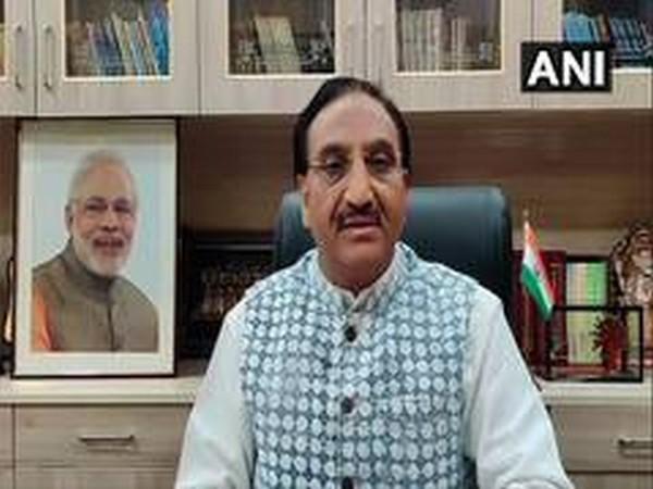 Union Human Resource Development Minister Ramesh Pokhriyal (File photo)