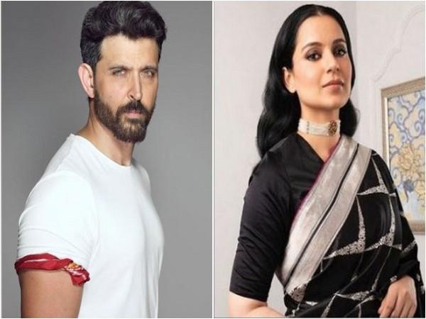 Hrithik Roshan and Kangana Ranaut (Image source: Instagram)