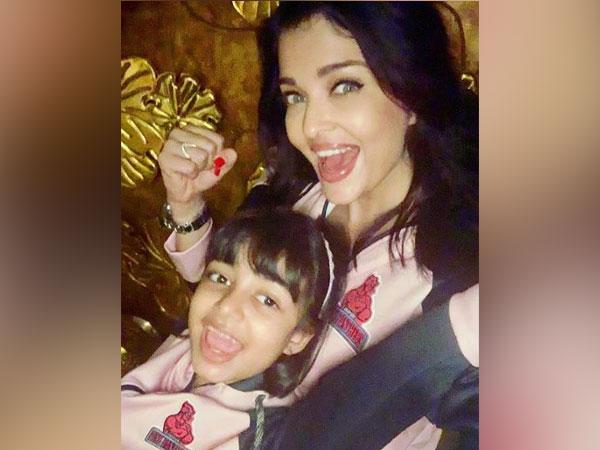 Aishwarya Rai Bachchan with daughter Aaradhya Bachchan, Picture courtesy: Instagram