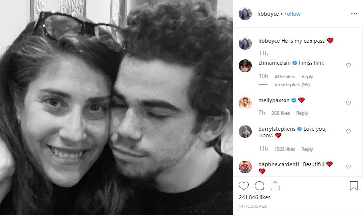 Cameron Boyce's mother opens up about his death