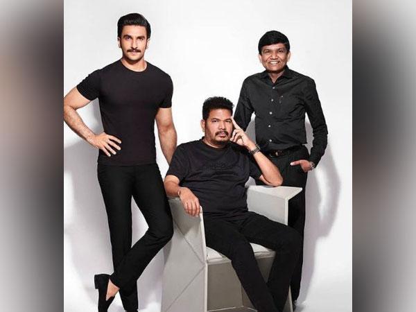 Ranveer Singh, Shankar, Dr Jayantilal Gada (Image source: Instagram)