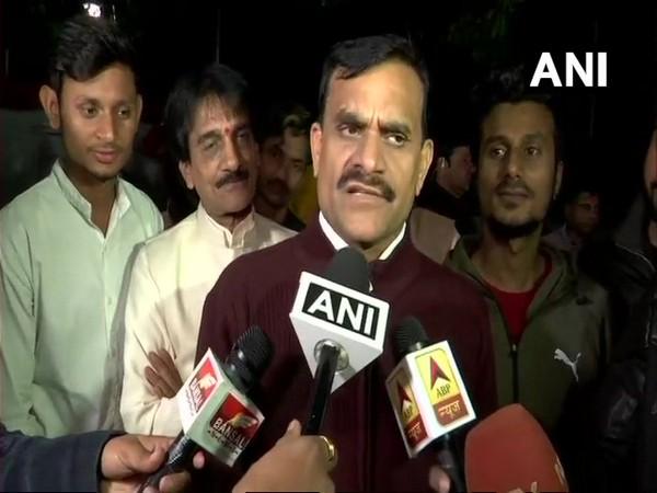 Bharatiya Janta Party  Madhya Pradesh president VD Sharma (file pic/ANI).