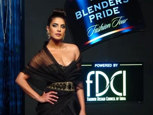Priyanka Chopra Jonas stuns in a sexy black gown