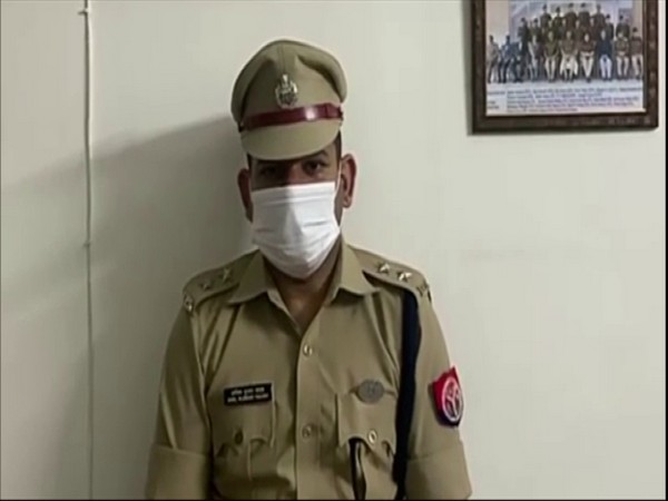 Anil Yadav, assistant superintendent of police, Moradabad (Photo/ANI)