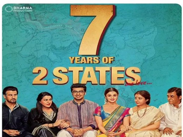 Poster of '2 states' (Image Source: Instagram)