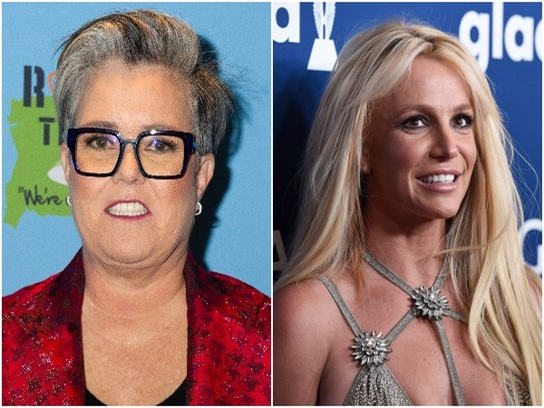 Rosie O'Donnell, Britney Spears (Image source: Instagram)