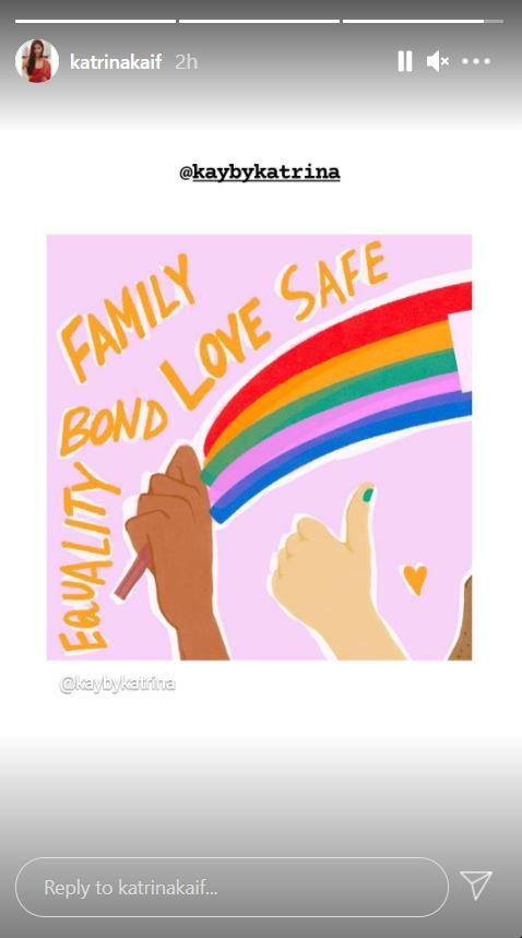 Katrina Kaif celebrates Pride Month with new social media  po