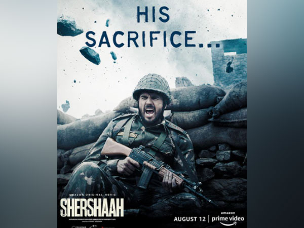 Motion poster of 'Shershaah' (Image source: Instagram)
