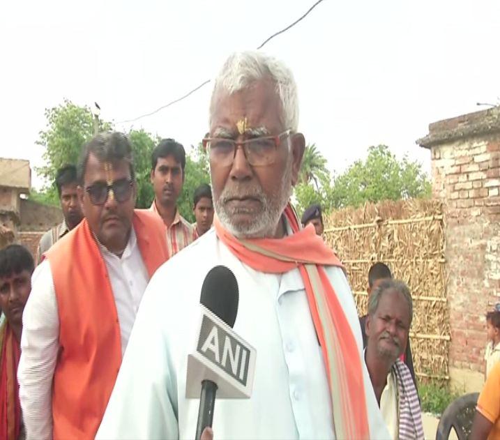 BJP MP Hukumdev Narayan speaking to ANI
