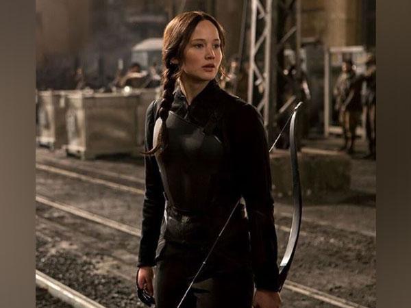 Jennifer Lawrence as Katniss Everdeen, Image courtesy: Instagram