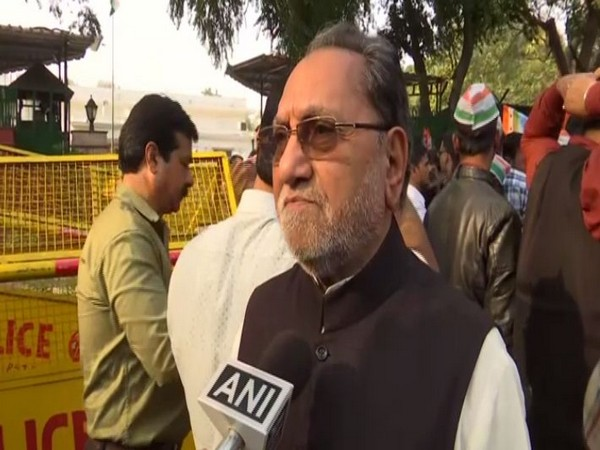 Congress MP Husain Dalwai speaking to ANI on Wednesday
