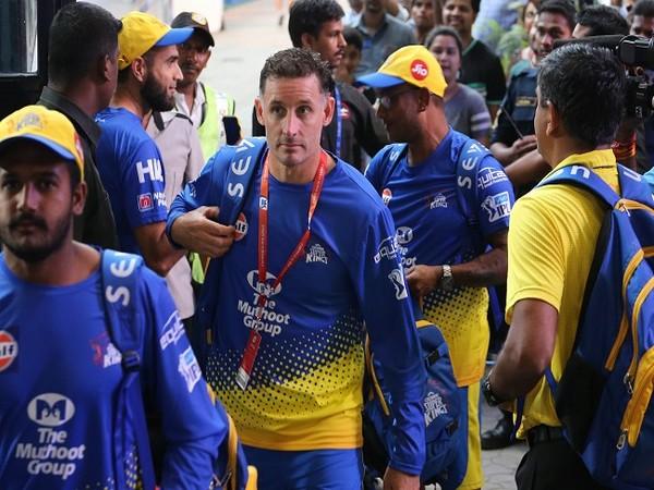 CSK batting coach Michael Hussey (Image: BCCI/IPL)