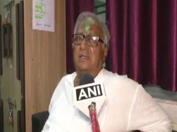 TMC leader Sougata Roy speaking to ANI on Monday