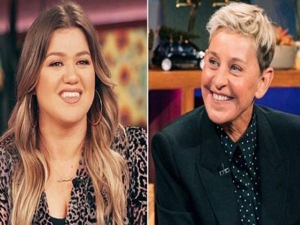 Kelly Clarkson and Ellen DeGeneres (Image source: Instagram)
