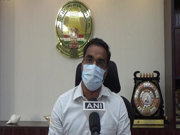 District Commissioner of Thoothukudi, Senthil Raj (Photo/ANI)