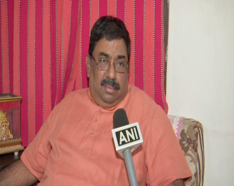 TR Sriniwas speaking to ANI in Hyderabad on Thursday. Photo/ANI