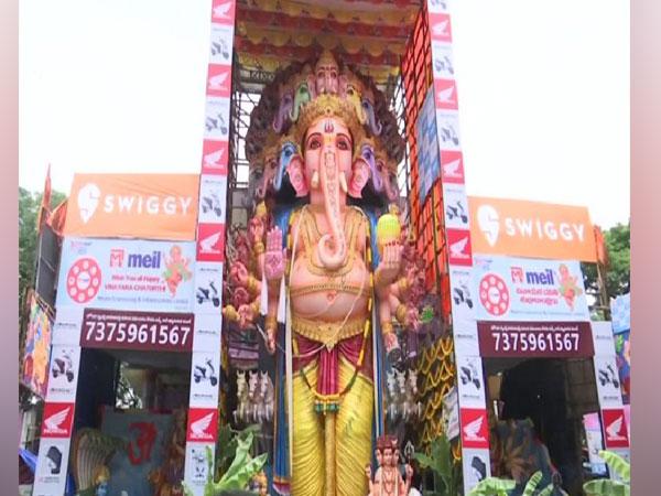 Tallest Ganesha idol in Khairatabad