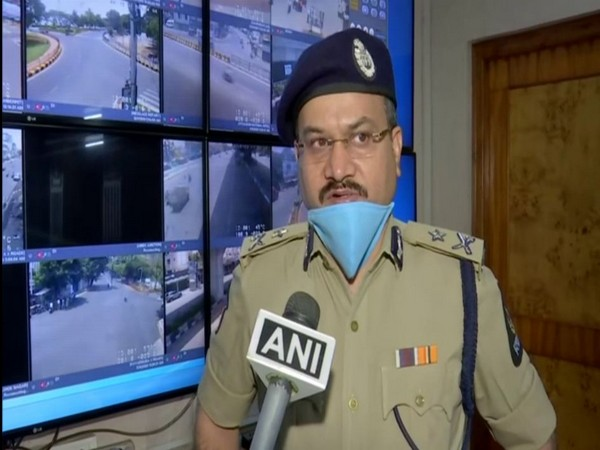 Anil Kumar, Additional Commissioner, Hyderabad City Police, speaking to ANI on Saturday.      Photo/ANI