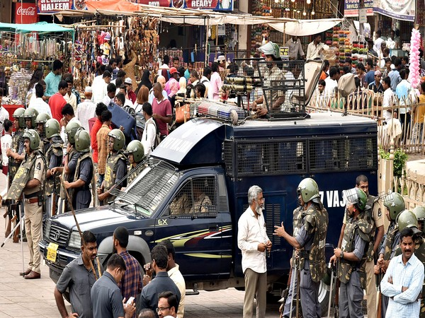 Security has been beefed up in Hyderabad ahead of December 6. (File Image)