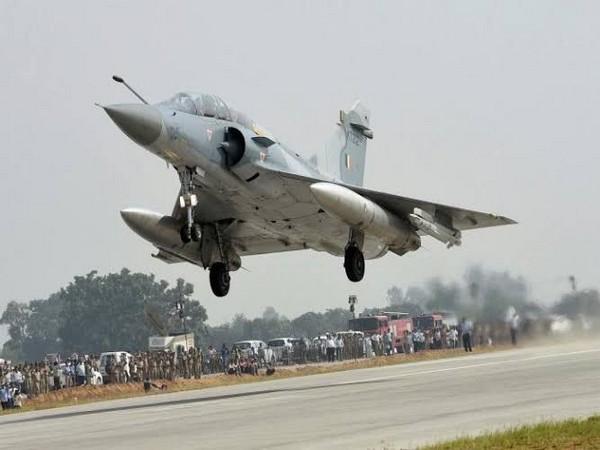 A Mirage 2000. (Photo/ANI)