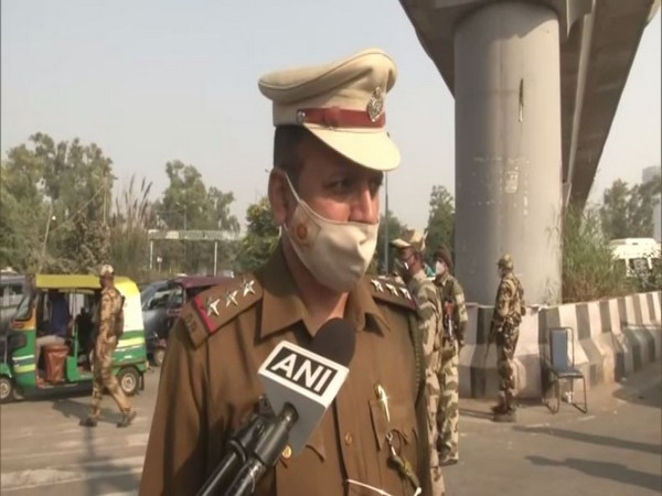 Gaurav Sharma, Deputy Commissioner of Police (Outer North), Delhi (Photo/ANI)
