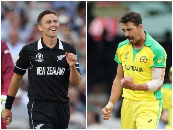Trent Boult and Mitchell Starc