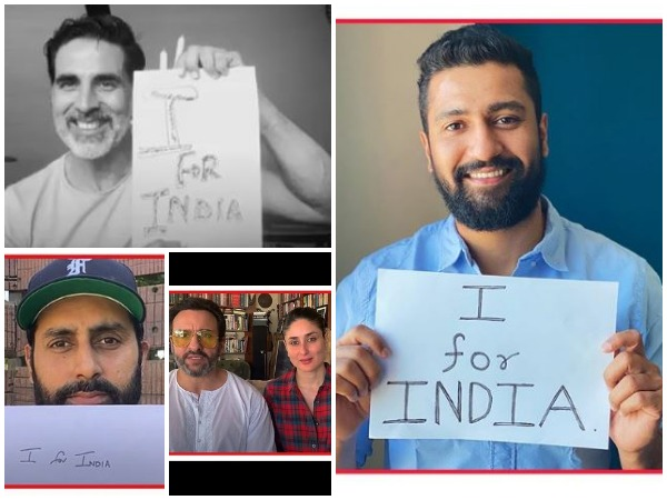 Celebs urging people to join 'I For India' concert (Image courtesy: Instagram)