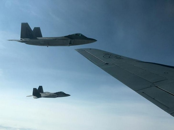 US F-22 fighters (File photo)