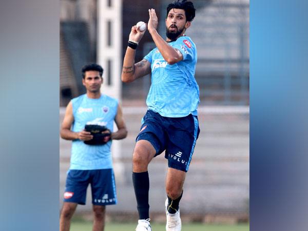 Delhi Capitals pacer Ishant Sharma (Photo/ Delhi Capitals Twitter)