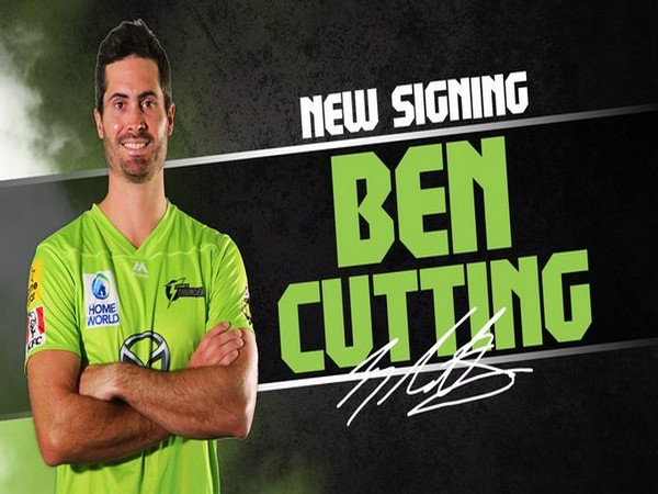 Sydney Thunder sign Ben Cutting. (Photo/ Sydney Thunder Twitter)