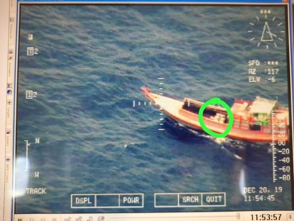 Coast Guard detained a Myanmarese boat with six crew members near Little Andaman Islands on December 20.
