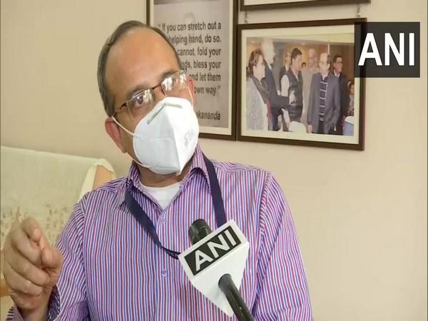 Dr Samiran Panda speaking to ANI on Tuesday.
