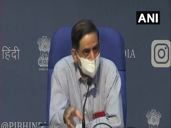 Prof (Dr.) Balram Bhargava, DG,ICMR during a press conference in New Delhi on Tuesday. (Photo/ANI)