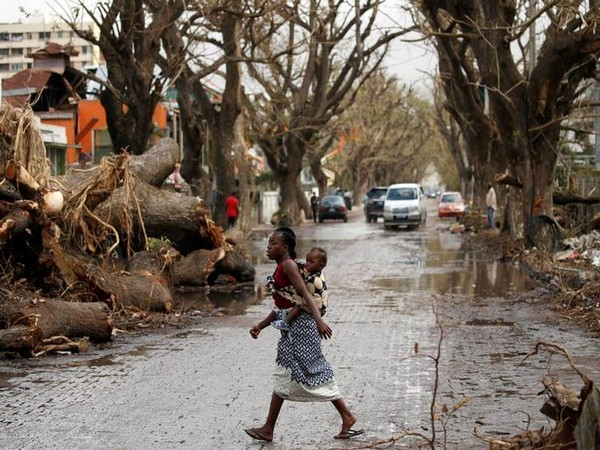 The trail of destruction left by Cyclone Idai in Beira, Mozambique