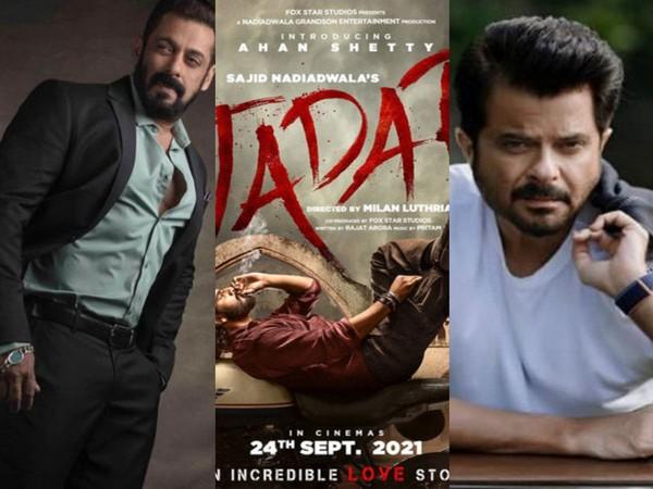 Salman Khan and Anil Kapoor